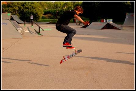 Skateboardové session v Budějovicích