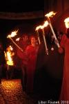 Krumlovské slavnosti s růží o pěti listech plné turnajů a ohně