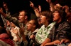 Mighty sounds - poslední den festivalu skočil dudák do publika