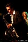 Bohemia Jazz Fest - Prachatice byly také mokré, ale zahřáli lucemburští jazzmeni