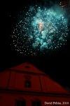 Táborské slavnosti - část páteční: klasický ohňový průvod a chabá laserovka
