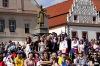 Český tým si z Mistrovství světa v hokeji veze bronz. Takhle se fandilo v Táboře