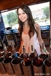 Vína se oblékla do růžové a přinesla léto do táborských lázní