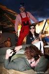 Klub MP7 oblékl zahrádku do  festivalu 3dny/7. Diktovali Vryt i Sabot