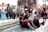 Bohemia Jazz Fest 2011: Blesky rozsvítily Týnský chrám. Muzikanti se jen tak nedali