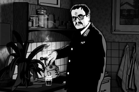 Jaroslav Rudiš: K Aloisi Nebelovi mě inspiroval dědeček. Brýle ani kníra ale nenosil