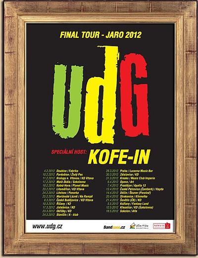UDG zahrají na jihu Čech s Kofe-in