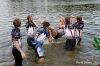 Na vodě se proháněli draci, náměstí ožilo hudbou i kejklíři