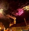 Prachatické slavnosti obrazem: Kapely, divadlo a show zakončil ohňostroj
