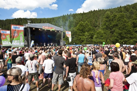 Festival Hrady CZ trhá rekordy.Po Kunětické hoře předává štafetu Rožmberku