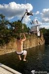 Do vody se vrhali z dvaceti metrů, pak zapařili na punkrock, hip hop i elektro
