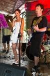 Na festivalu VeleRock se k hudebním nástrojům dostali i návštěvníci