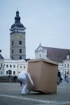 Week in self na náměstí aneb Mjölk architekti zavítali na měsíc do Budějovic