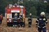 Tanky táhly na Chýnov. Zasahovala záchranka a nezastavili se ani hasiči