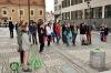 Buskers festival v Českých Budějovicích. Hrálo se na každém rohu