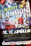 Night in London v Apollu lidi přilákal