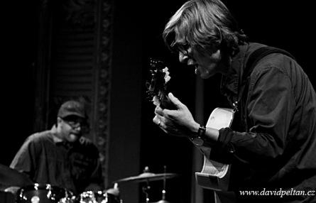 Rudy Linka Trio zahrálo z alba Re:connect. Táborem se nesl jazz i rock, dnes je v Písku