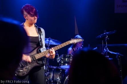 Dívčí kapela zahrála v budějovickém Highway 61 clubu, sakrahustý Evakuační plán