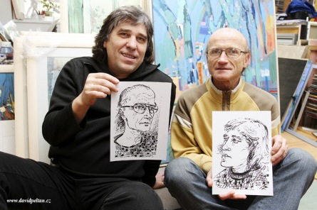 Lumír Slabý a Teodor Buzu vydali čtvrtou sbírku. Bude pohlazením mozolnatou rukou