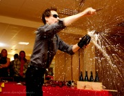 Táborský festival vína: Když sekáte láhve, létají střepy. Byla i zvěřina a Baloun