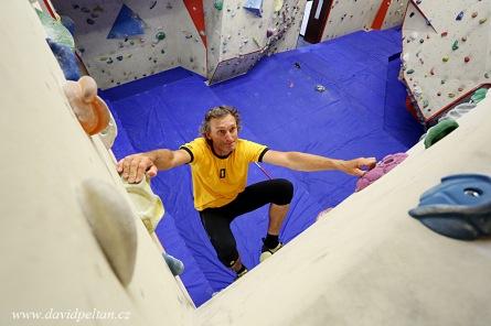 VSezimově Ústí vzniká největší stěna na lezení v kraji. Horolezci si tak plní dětský sen