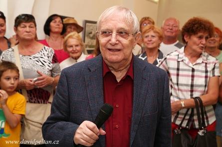 Jiří Suchý roztančil výstavu