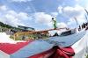 O posledním prázdninovém víkendu napadl v Táboře první sníh