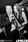 V Apollu nahodil oblek i trumpetista George Trumpetman