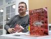 Pan Nakladatel představil v táborské knihovně Heslo: Jazz Dock i silné Kafe v pět