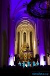 Kostelem na Piaristickém náměstí zněla nejlepší gospelová hudba
