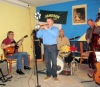 Jazz Friends zahráli společně s Evou Emmingerovou v kavárně U Kulíka v Táboře
