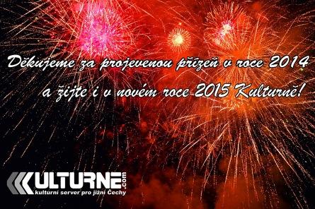 Bilance roku 2014: Kulturne.com nabídlo tisíce akcí a stovky článků. Díky vám!