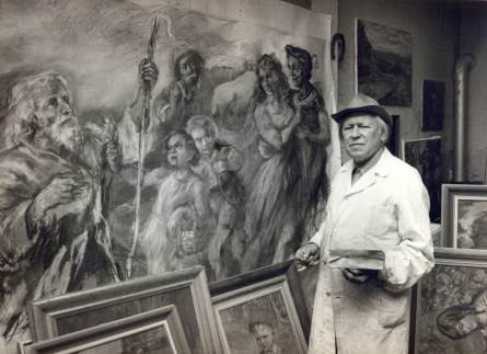 Muzeum vystaví neznámou tvorbu Romana Dragouna. Za život nakreslil 50 000 kreseb