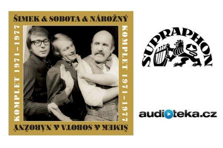Audiokniha: Šimek & Nárožný & Sobota - Komplet 1971-1977