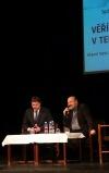 Pátek třináctého: Tomáš Halík besedoval v Písku se studenty