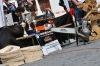Dřevorubci předvedli své umění na píseckém Velkém náměstí