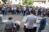 Budějovický majáles 2015: Lidi lákala stará továrna, počasí však míchalo kartami