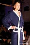 Módní přehlídce oděvů Hany Zelenkové dominovaly kovové látky i barevnost