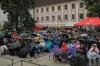 Okolo Třeboně zněl mohutný sbor, hlavním tahounem byl Jiří Suchý