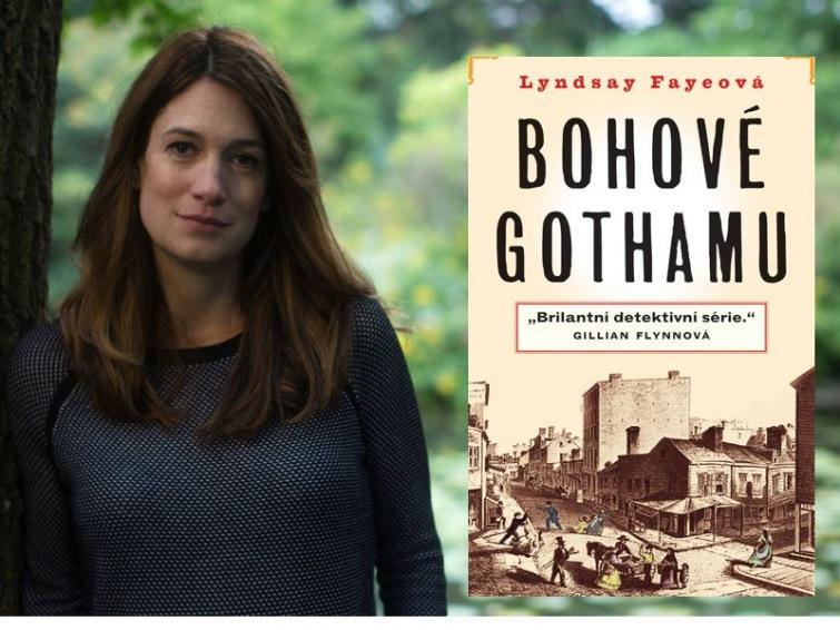 Audiokniha Bohové Gothamu je temná a napínavá. Nic pro romantiky