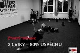 Trénink KB5: 2 cviky = 80 % úspěchu