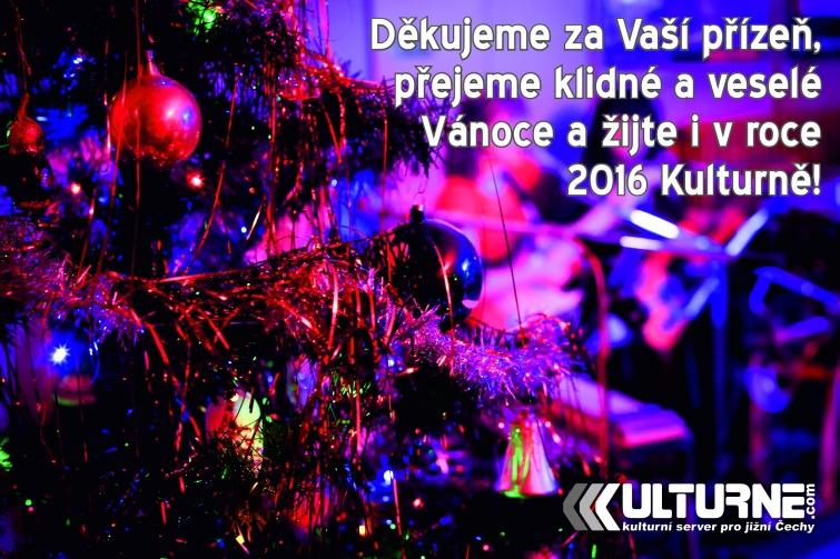 Veselé Vánoce přeje Kulturne.com!