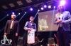 Na plese fotbalového týmu MAS Táborsko rozdávali poháry. Cenu dostala i dívka
