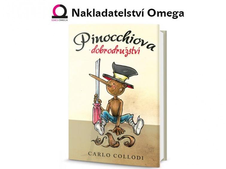 Soutěž o tři knihy od nakladatelství Omega Pinocchiova dobrodružství