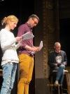 V Divadle Oskara Nedbala četli Hájíčka. Za jeho přítomnosti