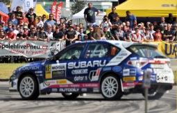 Rallye v Českém Krumlově ovládl Jan Kopecký. Nechal za sebou 115 posádek