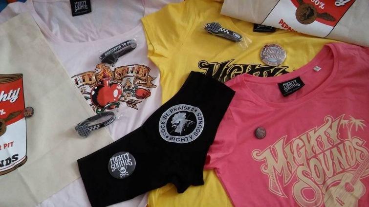 Soutěž o mechandise balíčky Mighty Sounds