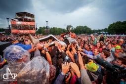 Sziget festival vyděsila bomba. Do plných šlapali Skunk Anansie i Die Antwoord