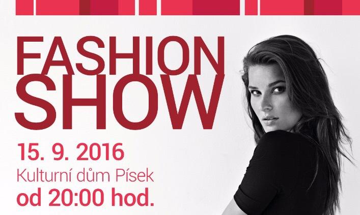 Soutěž o volné vstupenky na Fashion show v Písku