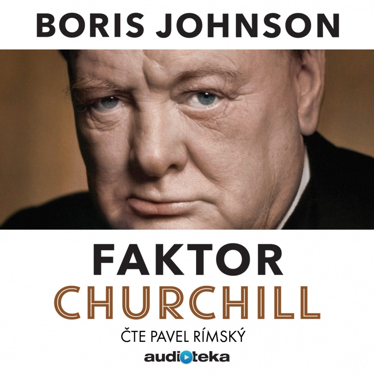 Soutěž o audioknihu Faktor Churchill od Audiotéky